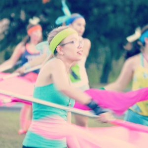 Colorguard @ UMass Super DMA.