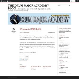DMA's First Blog Post.