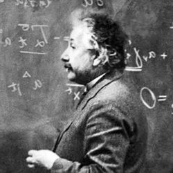 Einstein was super smart, you guys.