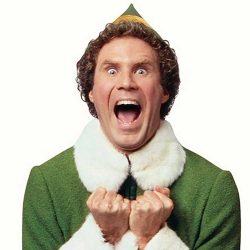 Enthusiasm: Buddy the Elf.