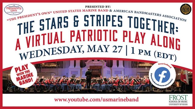Marine Corps Band Virtual Concert.