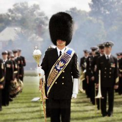 Military Band Drum Major.