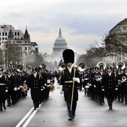 Parade Band in Washington DC.